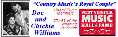 Doc & Chickie Williams Hall of Fame Members